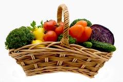 légumes de panier Images stock