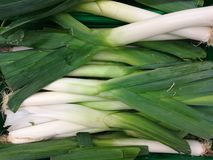 Légumes de poireaux Photos stock