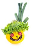Légumes drôles photos stock