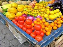 Légumes du marché d'Otavalo Photos libres de droits