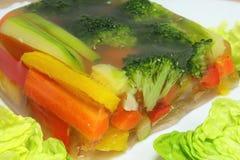 Légumes en aspic Images libres de droits