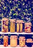 Légumes en boîte Photographie stock libre de droits