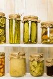 Légumes en boîte Photo libre de droits