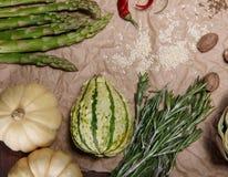 Légumes et épices Photographie stock libre de droits
