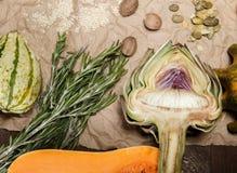 Légumes et épices Photo libre de droits