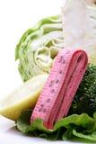 Légumes et fittness Images libres de droits