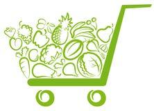 Légumes et fruit Photographie stock libre de droits