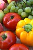 Légumes et fruit colorés Images libres de droits