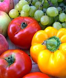 Légumes et fruit colorés Image libre de droits