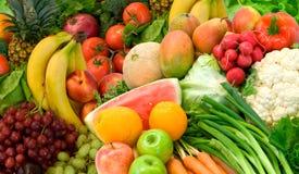 Légumes et fruits Photo stock