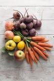 Légumes et fruits Image stock