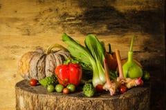 Légumes et fruits toujours de la vie. Image libre de droits