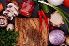 Légumes et graines de jardin photos stock