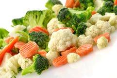 Légumes figés Photos stock