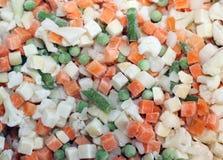 Légumes figés Images stock