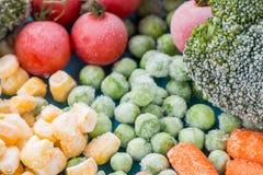 Légumes figés Photo libre de droits