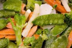 légumes figés Photographie stock