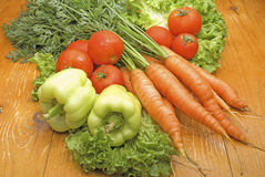 Légumes frais de la zone Images libres de droits