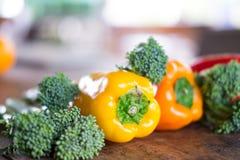 Légumes frais en gros plan Image libre de droits