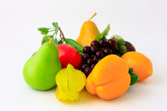 Légumes frais et fruits Images libres de droits