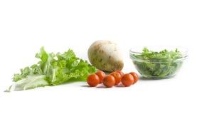 Légumes frais pour la salade Image libre de droits