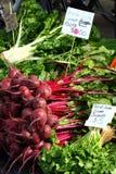 Légumes frais sur le marché de Salamanque Photos libres de droits