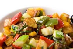 Légumes frits Images libres de droits
