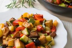 Légumes frits Photographie stock libre de droits