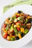 Légumes frits Image libre de droits