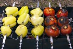Légumes frits par goût image libre de droits