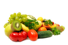légumes fruits Photos stock