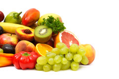 légumes fruits Images stock