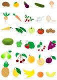 légumes fruits Photo stock
