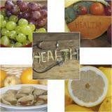Légumes fruits et bien-être Images stock