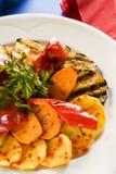 Légumes grillés Images stock