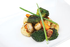 Légumes grillés. Photos libres de droits
