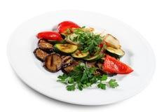 légumes grillés Images libres de droits