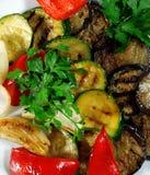 Légumes grillés Photographie stock libre de droits