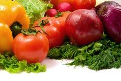 Légumes humides Image stock