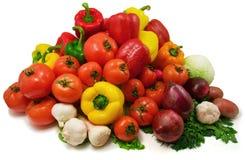 Légumes humides Photographie stock