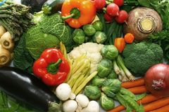 Légumes mélangés Photographie stock