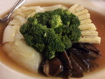 légumes mélangés Remuer-frits Images stock