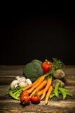 Légumes organiques images libres de droits