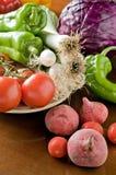 Légumes organiques frais Photo libre de droits