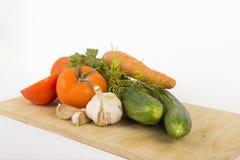 Légumes pour la salade photo stock