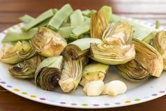 Légumes préparés pour la cuisson image libre de droits