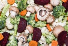 Légumes prêts pour la cuisson Photo stock