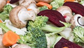 Légumes prêts pour la cuisson Photos libres de droits