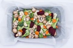 Légumes prêts pour la cuisson Photographie stock libre de droits