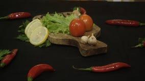 Légumes qui renforcent la nourriture photographie stock libre de droits
